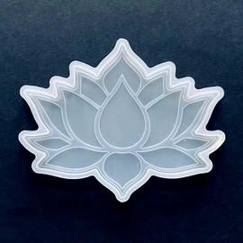 Lotus Flower Silicone Coaster Resin Mold