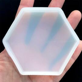 Hexagon Coaster Silicone Mold - Small