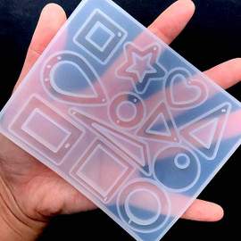 Geometry (12 Cavity) Silicone Mold