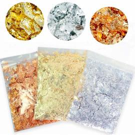 Imitation Metallic Foil Flakes for Resin 2g