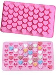 Mini Heart Shape Silicone mold (55 Cavity)