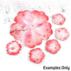 Flower Shaped Coaster Molds for Epoxy Resin