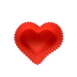 Silicone Baking & Soap Molds Hearts (2Pcs)