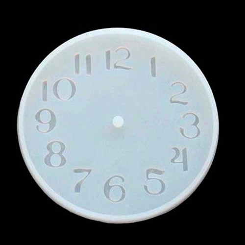 Silicone Clock Mold for Resin/Concrete 10CM/15CM