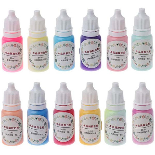 Pastel Color Resin Pigment Dye