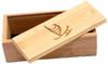 Magnetic Bamboo Slider Top Storage Box Case for Wood Sunglasses