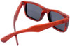 Cloudbreak Polarized Square Red Rosewood Sunglasses Back