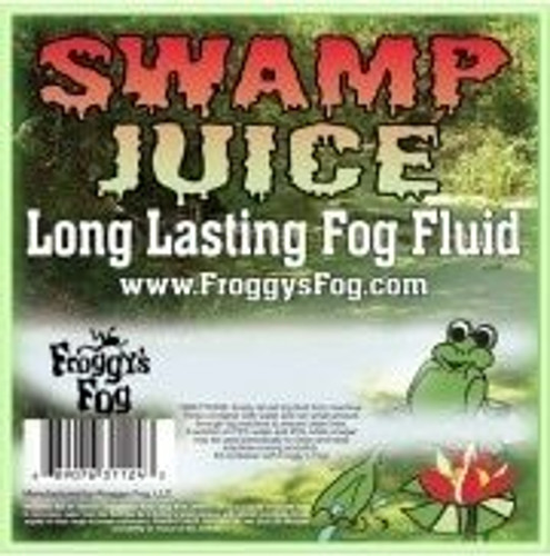 Froggys Fog - Swamp Juice (Extreme Hang Time Longest Lasting Fog Fluid) - Fog Juice