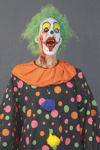 6 FOOT PROFESSIONAL SHARKY THE CLOWN PROP