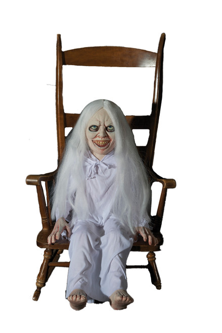 Ghost Girl Latex Animated Prop