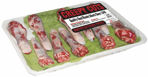 Creepy Bloody Cuts Finger Package