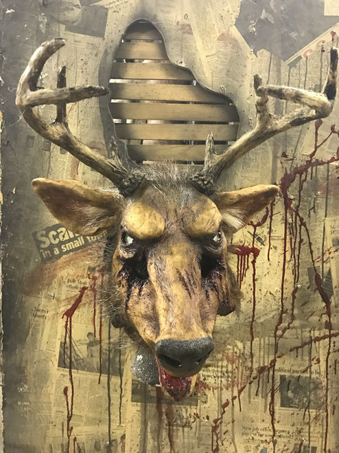 Deer Slayer W/ Movable Mouth Professional Custom Mask