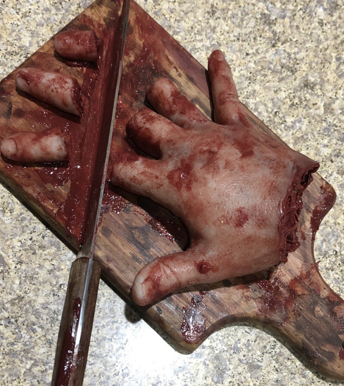 Cutting Board Accident prop