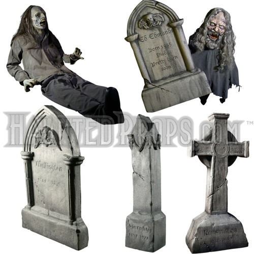 5 PIECE Grave Yard Animated / Static Deal