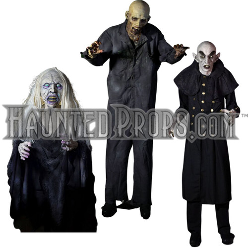 3 PIECE FULL SIZE HORROR DEAL
