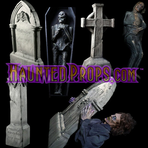 6 Piece Static & Electric Grave Yard Deal