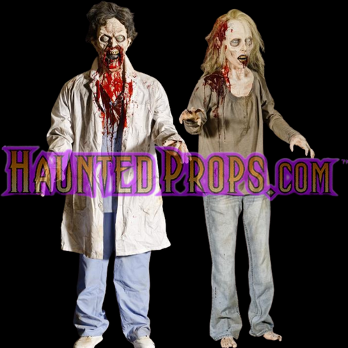 2 All Electric Animated Zombie  Mad Lab Deal