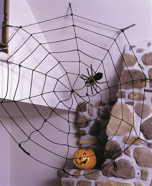 Spider Web 9ft Rope Blk