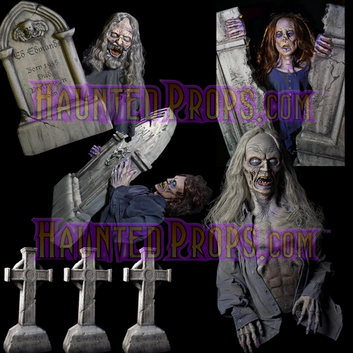 7 PIECE STATIC / ALL ELECTRIC GRAVE YARD DEAL X7
