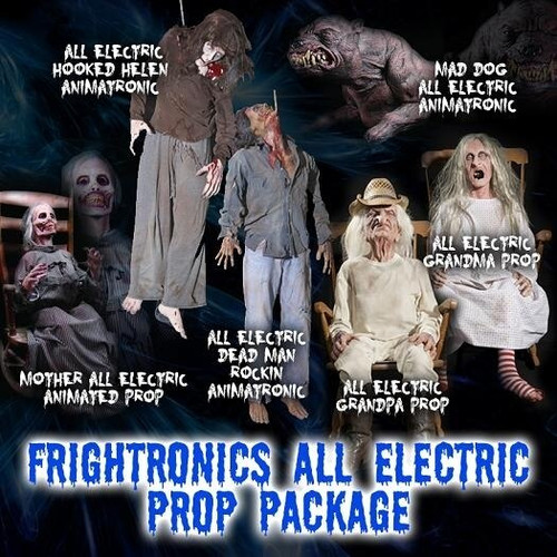 All Electric 6 Piece  Frightronics   Prop Package Deal