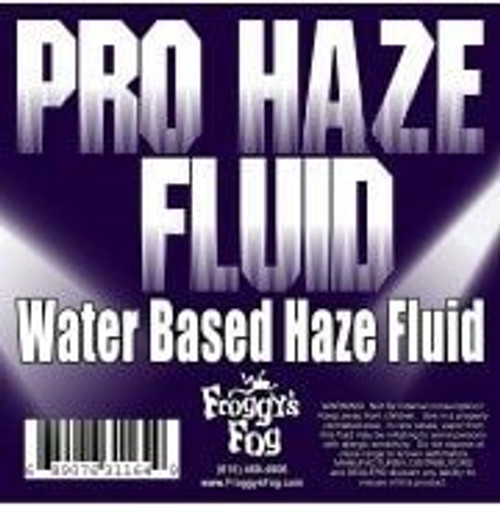 Froggys Fog Pro Haze Fluid - Hfg High Performance Water Based Haze Juice