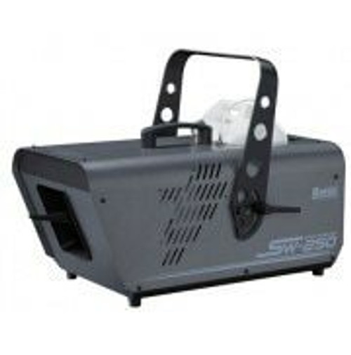 Antari Sw-250 - Silent High Output Snow Machine With Wireless Remote - Digital And Dmx Controls