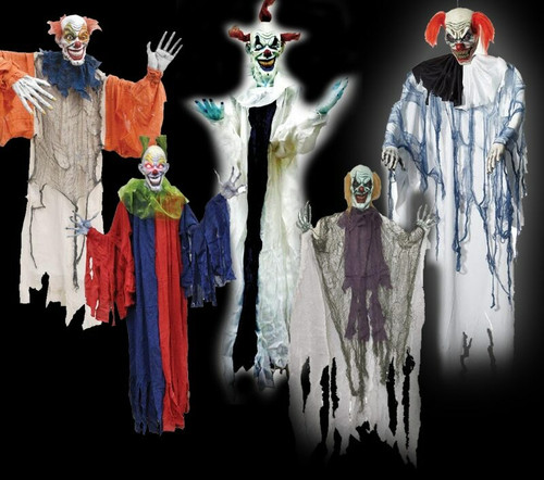 "5 Piece Hanging Clown Deal 36"" To 60"""