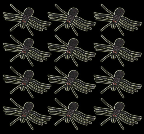 "12 Each 10"" Latex Spiders"