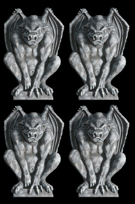4 EACH  3 FOOT Guardian Gargoyle Foam-Filled  DEAL