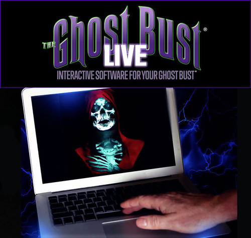 Ghost Bust Live Software