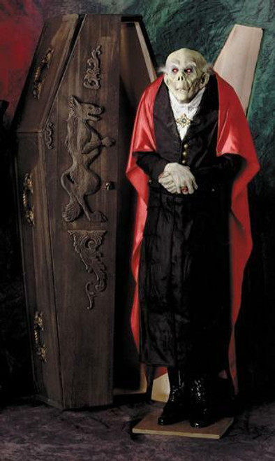 Count Drac Prop  W Light Up Eyes