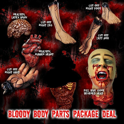 Bloody Body Parts Packaged Deal