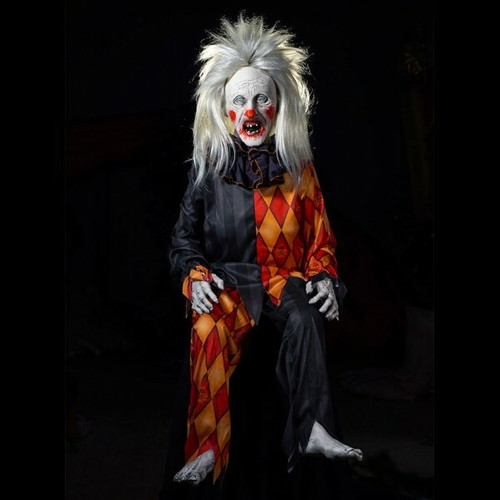 All Electric Last Laff Horror Clown Animatronic