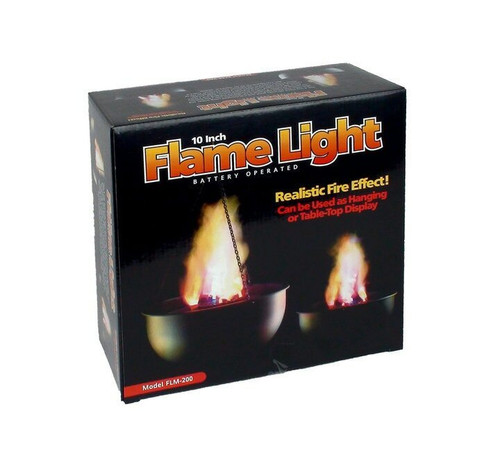 "Flame Cauldron Led Light 10"" H Flame"
