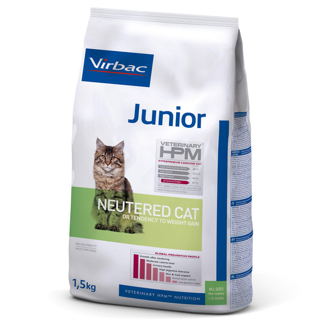 JUNIOR CAT - Foder til ungkatte