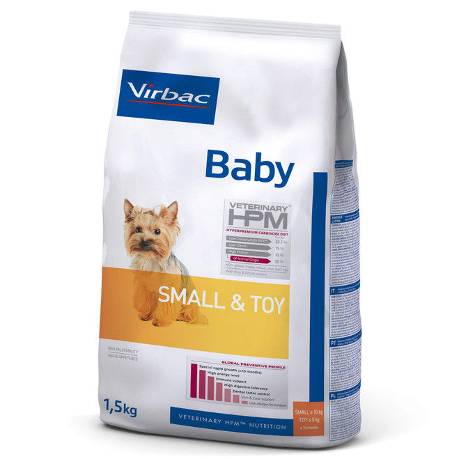 BABY DOG Small & Toy - Hvalpefoder
