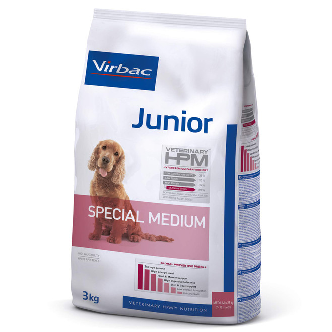 JUNIOR DOG Special Medium - Foder til unghunde