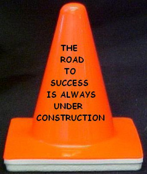 "Novelty 4"" Blaze Cone #001  The Road to Success"