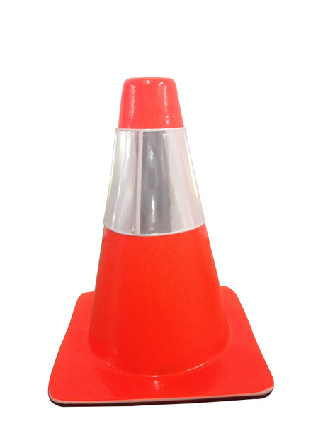 "18"" Blaze Cones W/Reflective Band (Box of 15) FREE Shipping"