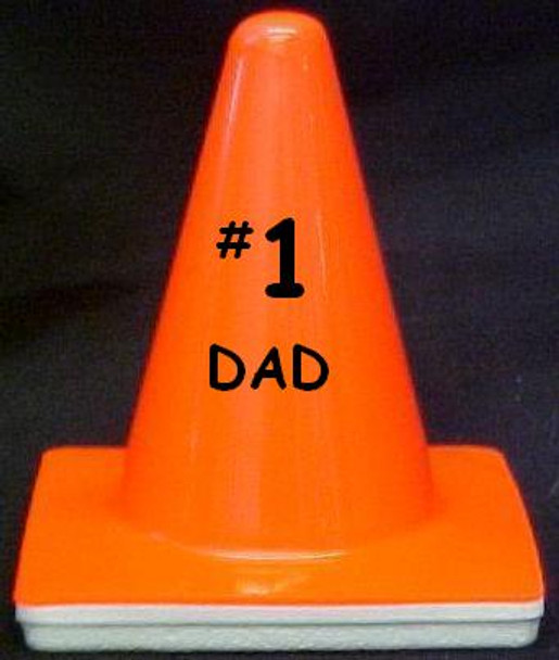 "Novelty 4"" Blaze Cone #216 #1 Dad"