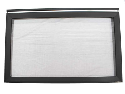 Heat N Glo Decorative Front - Black (DF-8-BK)