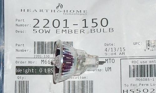 Heat N Glo Ember Bulb - 50W (2201-150)