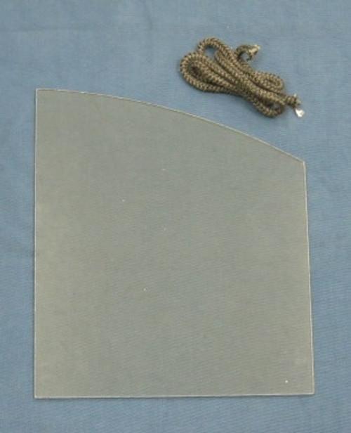 Heat N Glo & Heatilator Glass with Gasket  (SRV480-5430)
