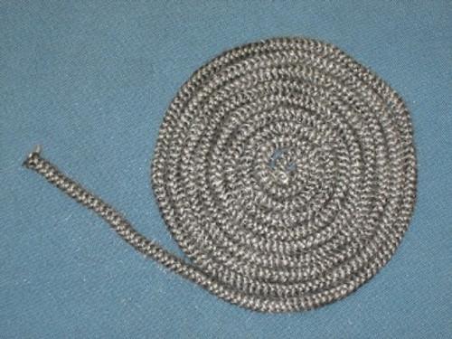 """Heat N Glo 1/4"""" x 10' Black Rope Gasket (834-1460)"""
