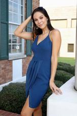 Grayson Midi Dress - Celestial Blue