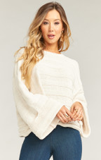 Tulsa Sweater - Cream Stripe Knit