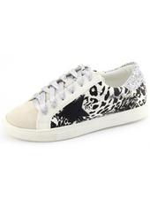Aventura Black & White Star Sneaker