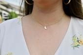 Mississippi Shaped Sorority Necklace