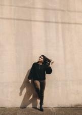 Maria Tuxedo Stripe - Dark Bayou