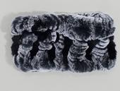 Black Fur Headband/Neckwarmer
